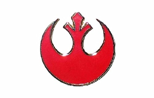 (Star Wars Red Rebel Alliance 3/4″ Wide Metal Enamel Costume)