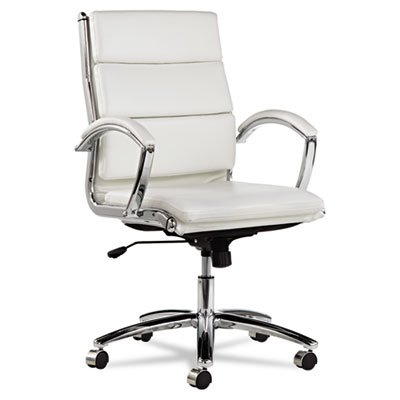 neratoli-mid-back-swivel-tilt-chair-white-stain-resistant-faux-leather-chrome-sold-as-2-each