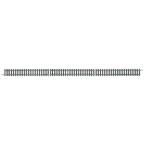 "Minitrix N Scale Code 80 Straight Track 12-5/16""  312.6mm Sections pkg(10)"