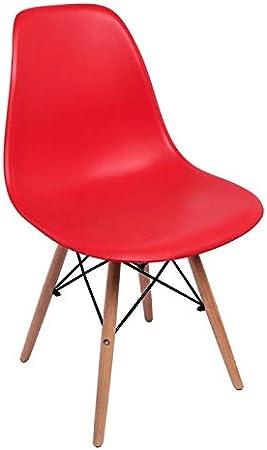 Regalos Miguel - Sillas Comedor - Silla Tower Basic - Rojo - Envío Desde España: Amazon.es: Hogar