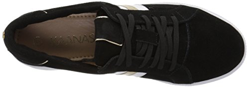 Tatacoa KAANAS Sneaker 10 Black Women's US Contrast Stripe Regular 1qw7q4ZaRc