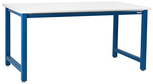 Workbench 72in (Kennedy Workbench With Cleanroom Class 100 Laminate Top With Round Front Edge, 6,000 lbs Capacity, 30