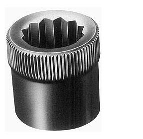 7/8-9'' Thread Uncoated Steel Allen Nut 7/8'' Diam, 7/8'' Hex Key by Holo-Krome