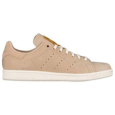 adidas Originals Women's Superstar W Fashion Suede Sneaker S82264, Pale Nude Beige/Cream Off White, 7.5 M US