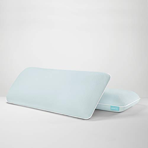Tempur-Pedic TEMPUR-Cloud + Cooling ProLo Pillow, King, White