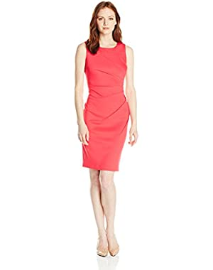 Women's Petite Starburst Sheath Dress