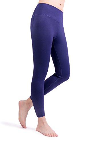 bd780d75b7cc2 THABIT Yoga Pants, High Waist Tummy Control Capris, Running Workout Leggings  (Medium,