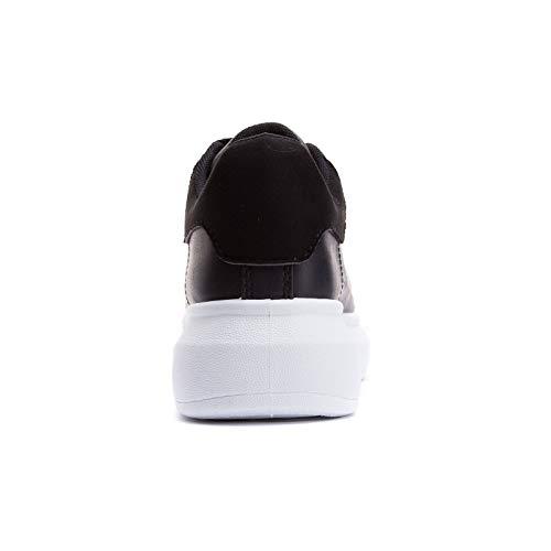 Casual Donna Scarpe Fitness M Pelle Para Ginnastica Eco Da Nero Mforshop 623 Sport Running Bianco Sneakers vpxFTFw