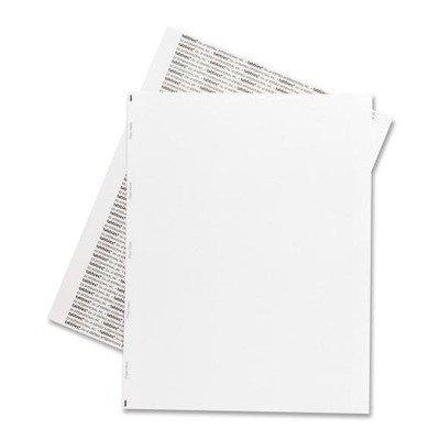 (Tabbies - Transcription Label,Unruled,1/Sheet,8-1/2x11,1000/BX,White, Sold as 1 Box, TAB 59534 by Tabbies)