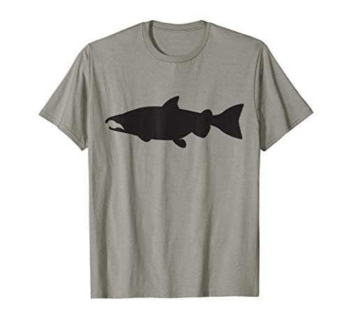 Coho Salmon T-Shirt Fishing Tee For Men And ()