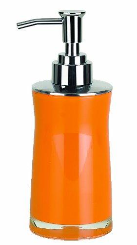Spirella colección Sydney, dispensador de jabón líquido 18,5 x 7,0 x 7,0 cm, acrílico, Naranja, 18.5 X 7.0 X 7.0 Cm: Amazon.es: Hogar
