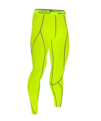 baleaf-mens-running-fitness-workout-compression-base-layer-tights-fluorescent-yellow-size-l