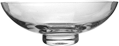 "Hosley 11.8"" Diameter Clear Glass Bowl"