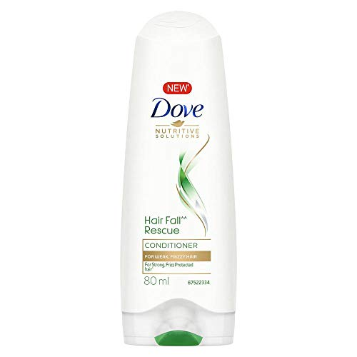 DOVE Hair Fall Rescue Conditioner - 80 ml Pack of 3