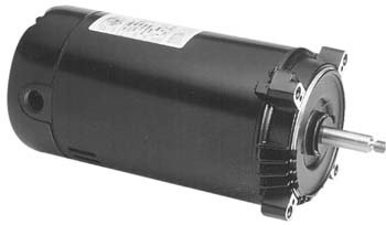 Emerson EST1102 5-5/8 Diameter Pool Pump Motor 1 HP (Emerson 1081 Pool Motor)