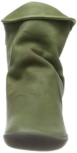 Verde Leather Donna Nat332sof forest Washed Softinos Green Stivali 020 wXfZU