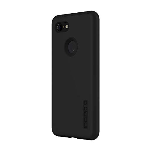 Incipio DualPro Google Pixel 3 XL Case with Shock-Absorbing Inner Core & Protective Outer Shell for Google Pixel 3 XL - Black