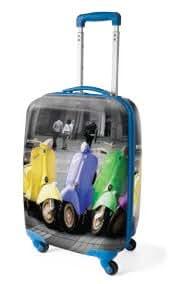 Lazy Days New Hardcase 4 Spinner Wheel Luggage Trolley Suitcase Holiday Travel