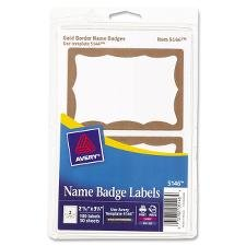 - Avery Printable Self-Adhesive Name Badges