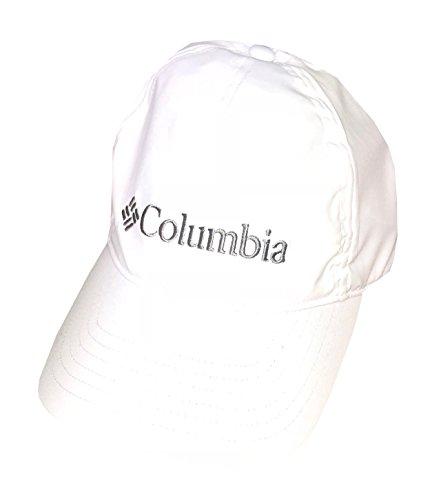 (Columbia Unisex Omni-Wick Omni-Freeze Midway Park UPF50 Adjustable Ballcap Hat (One Size, White))