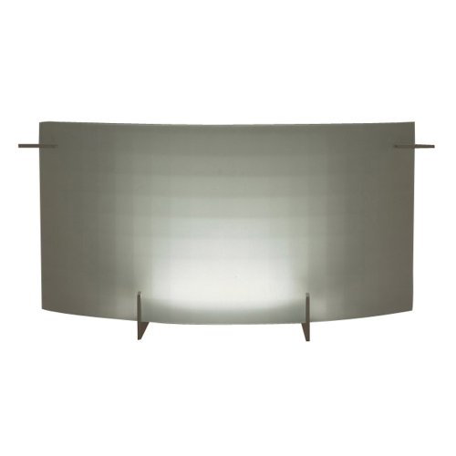 (PLC Lighting 12124 PC 2 Light Vanity, Contempo Collection, Polished Chrome Finish)