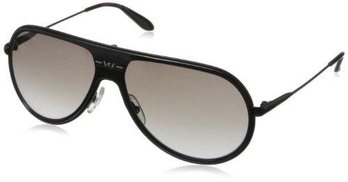 Carrera CA89S Aviator Sunglasses,Shiny Black,61 - Carrera Men Watch