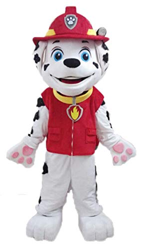 Best Paw Patrol Marshall Costume Mascot for Adults Cartoon Character Costumes for Birthday -