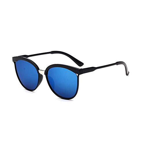 Start_wuvi Unisex Men Women Square Mirrored Sunglasses Eyewear Outdoor Sports Glasses (2019 Blue Mercury, ()