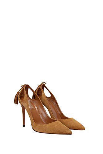 quality free shipping AQUAZZURA Courts Women - (FOMHIGP0SUEB80COGNAC) UK Brown outlet cheap price 4MS8SiGV