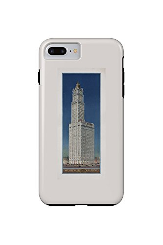 woolworth-building-new-york-vintage-poster-usa-c-1913-iphone-7-plus-cell-phone-case-tough