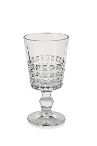 Villa D'Este Home Tivoli 2422738 Pixel Set Glasses, Glass, Transparent
