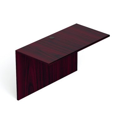 Offices to Go 30'' - 48'' Flush Bridge-48'' Wide in American Mahogany - 48'' Wide in American Mahogany