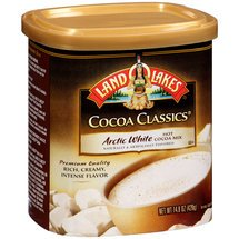 Land O Lakes Cocoa Classics Arctic White Hot Cocoa Mix, 14.8 ounce (Pack of 6) ()