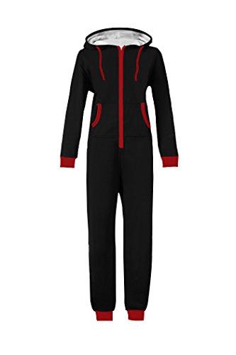 WOTOGOLD-Men-and-Women-Adult-Pajamas-Sportswear-Hooded-Unisex-Jumpsuit