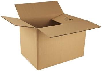 "10 x Strong Medium Sized 24 x 16 x 12/"" DW Removal Storage Cardboard Boxes"