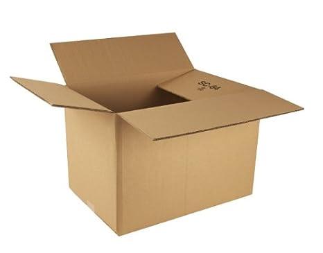 Ambassador Double Wall Carton - Paquete de 15 cajas de cartón, marrón: Amazon.es: Oficina y papelería