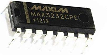 10Pcs MAX3232CPE MAX3232 Maxim Chip DIP-16 Ic New om