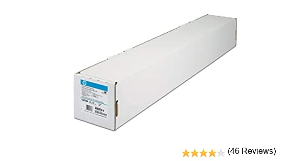Papel Mate - HP Plotter C6035A Papel Blanco Brillante para ...