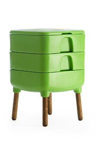 HOT FROG Living Composter (Worm Composter) by FCMP Outdoor