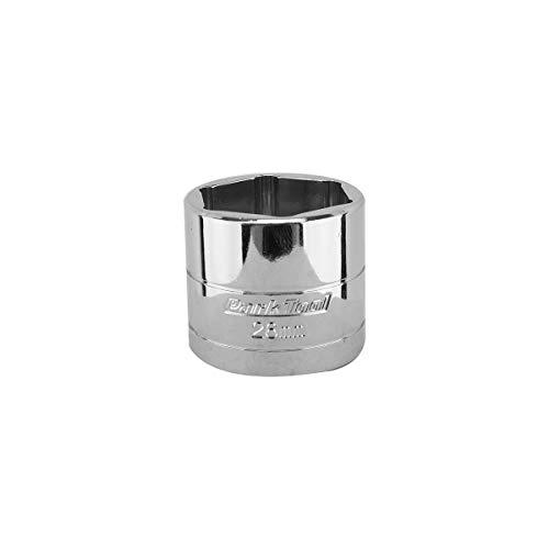 Park Tool Flat-Faced Socket Silver, 26mm ()