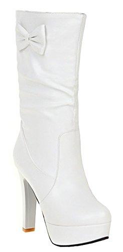 IDIFU (White Sexy Boots)