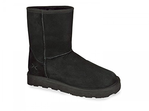 Shearling Low Boot Noir