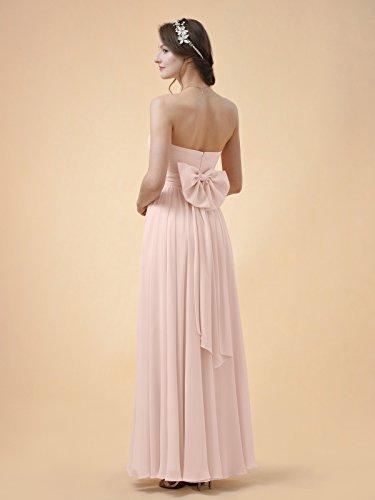 Gown Maxi Grape Party Prom Strapless A Dress Alicepub Line Dress Bridesmaid Chiffon Long TSpwc7OHq