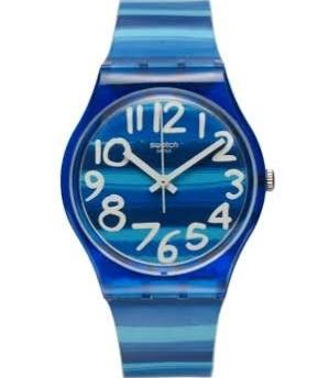 Swatch Unisex GN237 Blue Plastic - For Swatch Men