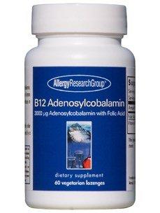 B12 Adenosylcobalamin 3Vitamin 000 mcg 60 Lozenges