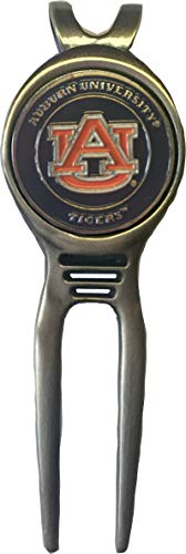 Auburn Tigers Golf Divot Tool Brass Great Gift IDEA WAR Eagle SEC ()
