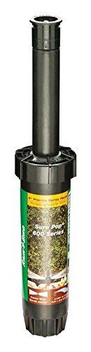 [Rain Bird Sure Pop Series 4-Inch 11 to 15-Foot Coverage Radius Pop-Up Spray Head Sprinkler - Center Strip #SP40CST] (Strip Sure Pop)