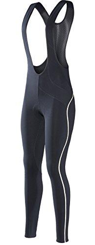 RION Pro Cycling Pants Women's Winter Thermal Padded Bib Tights (Steed-Gab, - Pro Cycling Womens