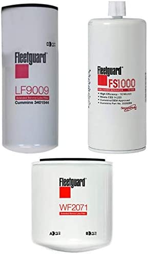 New and Genuine Fleetguard LF9009 and FS1000 Maintenance Kit