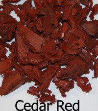 YARDWISE Landscape Rubber Mulch 75 Cu.Ft. Pallet-Cedar Red Color